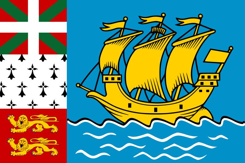 drapeau saint pierre et miquelon